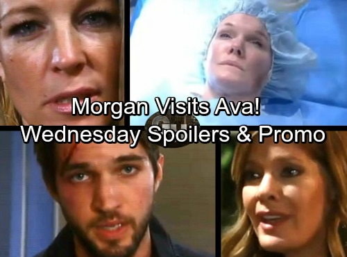 General Hospital Spoilers: Wednesday, January 17 – Bloody Morgan Appears to Ava – Carly Delivers Deadly Threat