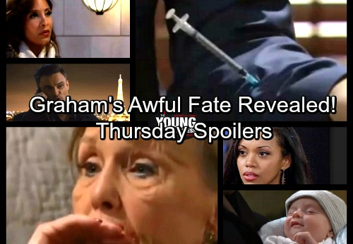 The Young and the Restless Spoilers: Thursday, January 18 - Graham's Shocking Fate Revealed – Hilary Aches for a Baby