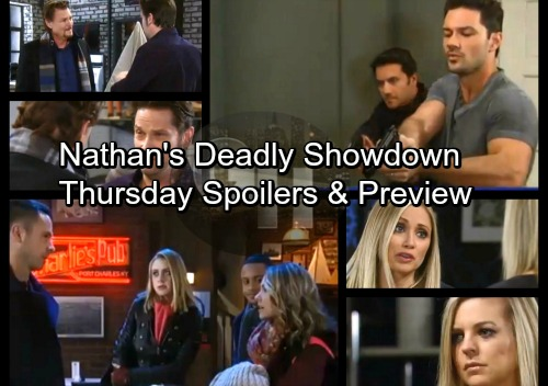 General Hospital Spoilers: Thursday, January 18 – Nathan's Shocking Showdown – Lulu Begs Maxie for Forgiveness – Liz's Warning