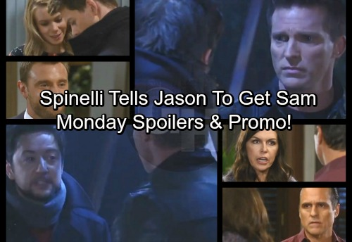 General Hospital Spoilers: Monday, January 22 – Spinelli Pushes Jason to Get Sam Back – Drew's Wedding Excitement – Danger for Dr. O