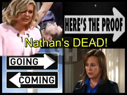 General Hospital Spoilers: See Proof Here Nathan Dies - Genie Francis Dropped - Comings and Goings – Huge Cast Shakeups