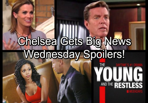 The Young and the Restless Spoilers: Wednesday, January 24 - Jack Plays Dirty – Chelsea Gets Big News – Devon's Offer to Hilary