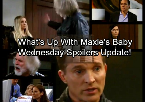 General Hospital Spoilers: Wednesday, January 24 Update – Maxie's Big Baby News – Jason Closes in on Peter – Lulu's Desperation