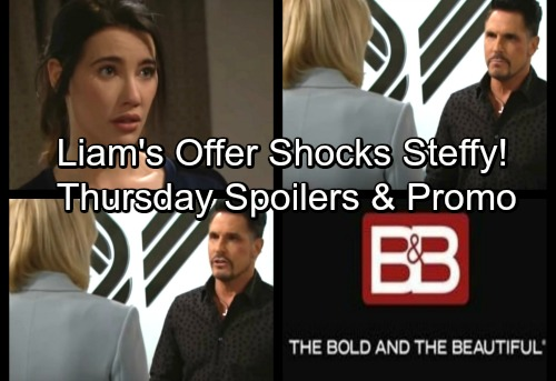 The Bold and the Beautiful Spoilers: Thursday, January 25 - Steffy Stunned By Liam's Surprising Alternative Solution