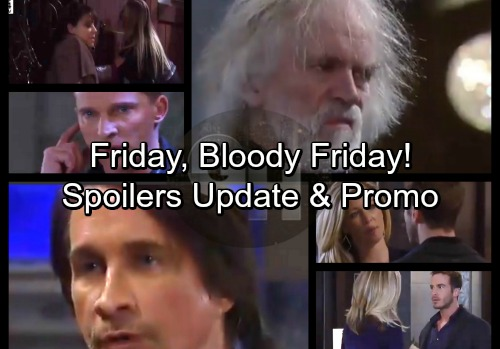 General Hospital Spoilers: Friday, January 26 Update – Friday, Bloody Friday - Faison's Shocking Shooting – Lulu's Desperate Plan
