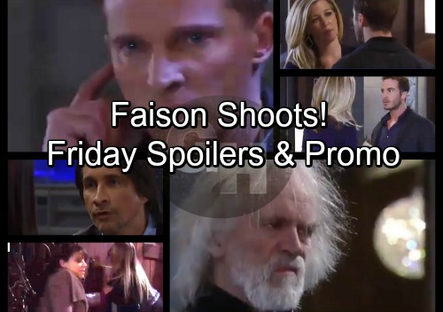 General Hospital Spoilers: Friday, January 26 – Faison Takes Aim and Fires – Jason to the Rescue – Lucas Returns