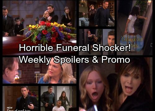 Days of Our Lives Spoilers: Week of January 29 - Andre's Funeral Bombshell – Murder Investigation Brings 3 Arrests