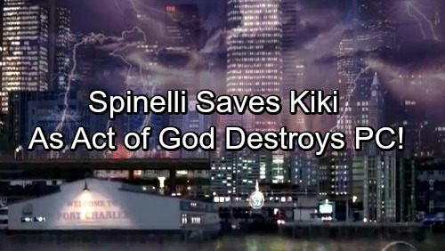 General Hospital Spoilers: Spinelli Saves Kiki's Life When Act of God Strikes PC – Terrible Trauma Lands Kiki at GH