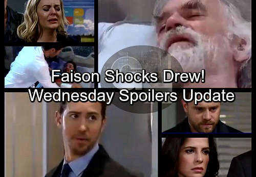 General Hospital Spoilers: Wednesday, January 31 Update – Maxie and Nina Hysterical Over Dying Nathan – Faison Shocks Drew