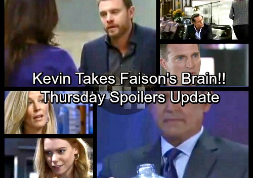 General Hospital Spoilers: Thursday, February 1 Update – Faison's Death Shocker, Kevin Takes His Brain – Carly Has Nelle Dirt