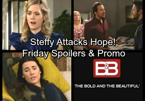 The Bold and the Beautiful Spoilers: Friday, February 2 - Steffy Fires Back at Hope – Ridge Fights for What He Wants
