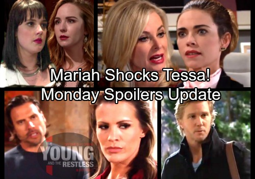 The Young and the Restless Spoilers: Monday, February 5 Update – J.T.'s Newman Job Offer - Mariah Shocks Tessa - Chelsea's Cooked