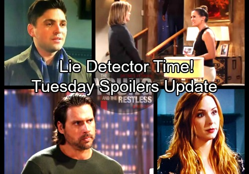 The Young and the Restless Spoilers: Tuesday, February 6 Update - Noah's Drunken Accident - Phyllis Demands Lie Detector