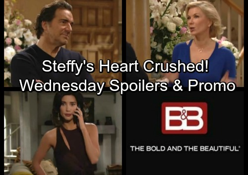 The Bold and the Beautiful Spoilers: Wednesday, February 7 - Steffy's Crushing Blow – Ridge and Brooke's Wedding Kicks Off