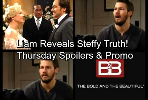 The Bold and the Beautiful Spoilers: Thursday, February 8 - Liam Reveals True Reason for Abandoning Steffy