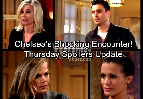 The Young and the Restless Spoilers: Thursday, February 8 Update - Chelsea's Jaw-dropping Encounter – Ashley's Dirty Move