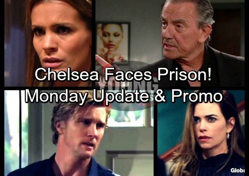 The Young and the Restless Spoilers: Monday, February 12 Update – Victor Threatens Chelsea with Prison – J.T. Explodes at Victoria