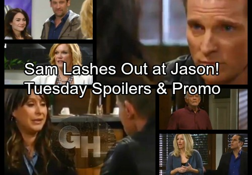 General Hospital Spoilers: Tuesday, February 13 – Kim Rips Into Drew – Sam Blasts Jason – Michael's News Stuns Nelle