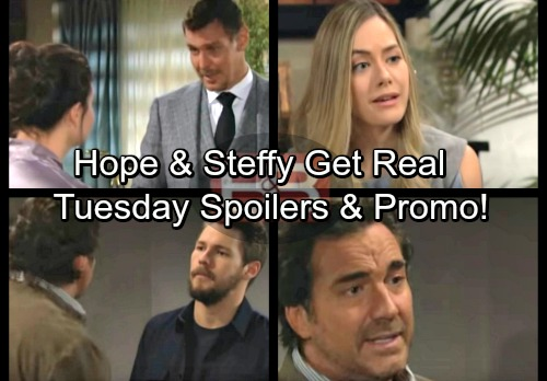 The Bold and the Beautiful Spoilers: Tuesday, February 13 - Hope and Steffy Tackle Liam Love – Thorne Learns a Juicy Secret