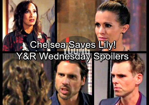 The Young and the Restless Spoilers: Wednesday, February 14 – Chelsea Comes to Lily's Rescue – Billy Cooks Up a Huge Surprise