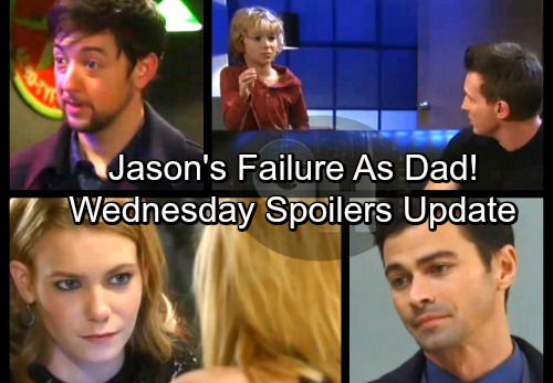 General Hospital Spoilers: Wednesday, February 14 Update – Jason's Parenting Failure – Nelle's Setback – Kiki Leans on Spinelli