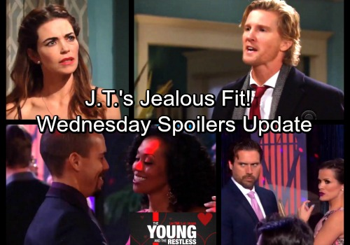 The Young and the Restless Spoilers: Wednesday, February 14 Update – Nick Buys Chelsea's Latest Lie – J.T.'s Jealousy Erupts