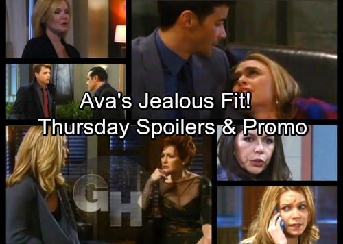General Hospital Spoilers: Thursday, February 15 – Anna Visits Andre – Nelle Saves the Day – Griffin Comforts Kiki, Ava Explodes