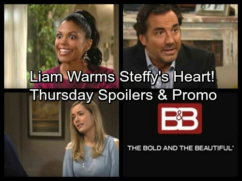 The Bold and the Beautiful Spoilers: Thursday, February 15 – Liam's Move Fills Steffy with Gratitude – Thorne's Mission Heats Up