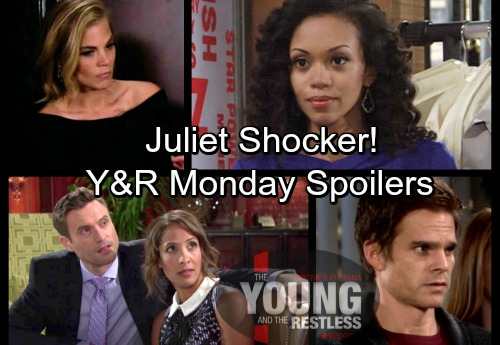 The Young and the Restless Spoilers: Monday, February 19 – Sharon Stunned Adam's The Father – Cane and Lily's Juliet Shocker