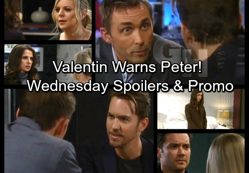 General Hospital Spoilers: Wednesday, February 21 – Valentin Warns Peter About Jason – Lulu Quits – Maxie Rejects Sam