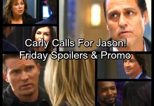 General Hospital Spoilers: Friday, February 23 – Carly Turns to Jason In Fear – Andre Returns – Epiphany Jinxes Liz's Wedding