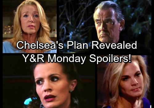The Young and the Restless Spoilers: Monday, February 26 – Chelsea's New Plan Revealed – Victor's On The Hot Seat