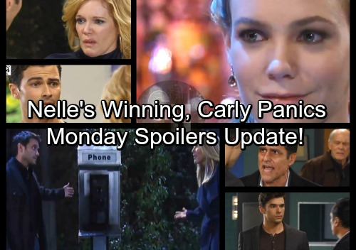 General Hospital Spoilers: Monday, February 26 Update – Carly Crumbles as Nelle's Confidence Grows – Sonny's Frustration Erupts