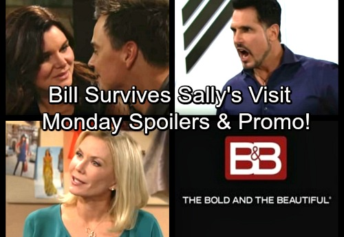 The Bold and the Beautiful Spoilers: Monday, February 26 – Sally's Shooting Results – Katie and Wyatt's Brave Move