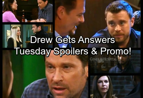 General Hospital Spoilers: Tuesday, February 27 – Drew Gets Answers from Jim – Anna's Urgent Mission – Dante Suspects Peter