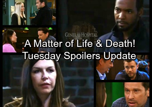 General Hospital Spoilers: Tuesday, February 27 Update – Maxie Puts Peter on the Spot – Jim Tackles Drew – Felicia Gets a Shock