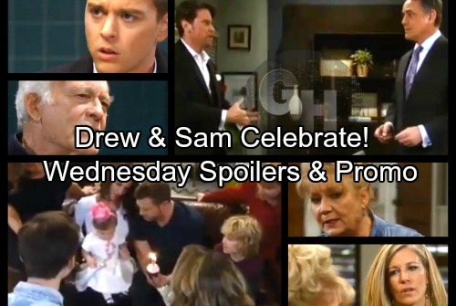 General Hospital Spoilers: Wednesday, February 28 – Mike Asks For Morgan - Drew and Sam Celebrate – Ava Defeats Sonny