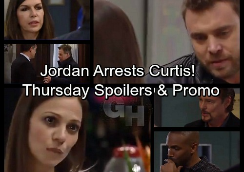 General Hospital Spoilers: Thursday, March 1 – Curtis Arrested – Drew Turns to Kim – Franco Remembers Jim's An Abuser