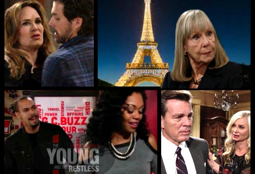 The Young and the Restless Spoilers: Friday, March 2 Update – Dina's Lost in France – Nick Moves In With Sharon