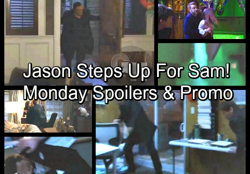 General Hospital Spoilers: Monday, March 5 – Michael Gravely Injured – Jason Steps Up for Sam – Nelle Trapped With Carly
