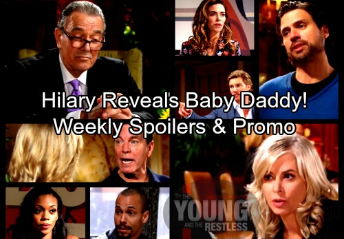 The Young and the Restless Spoilers: Week of March 5 – J.T. Caught In Victoria and Ashley's War – Hilary's Reveals Baby Daddy