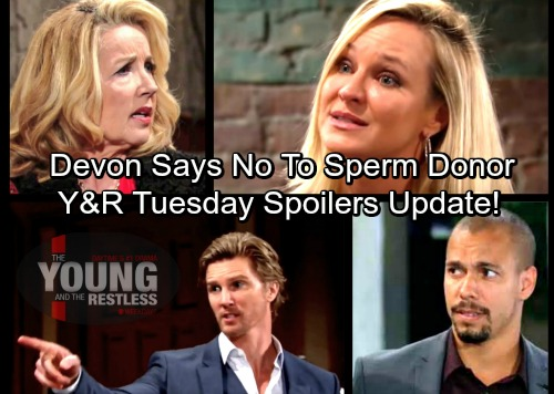 The Young and the Restless Spoilers: Tuesday, March 6 Update – J.T. Rages Like a Madman – Devon Refuses To Be Sperm Donor
