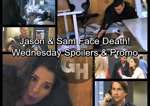 General Hospital Spoilers: Wednesday, March 7 – Jason and Sam Face Death - Injured Molly Rushed to GH, Julian Saves the Day