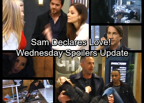 General Hospital Spoilers: Wednesday, March 7 Update – Sam Declares Love – Dante and Franco Fight To Survive Aftershock