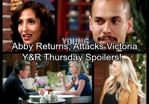 The Young and the Restless Spoilers: Thursday, March 8 – Abby Returns To GC, Attacks Victoria – Dina Crisis For Ashley and Jack