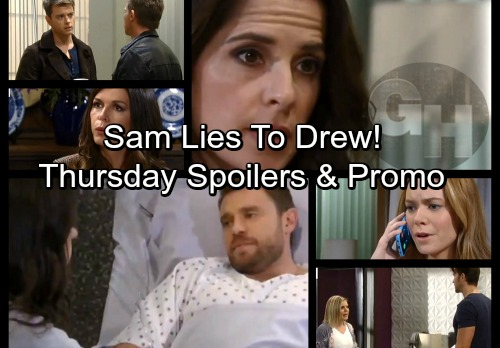 General Hospital Spoilers: Thursday, March 8 – Sam Keeps Secrets from Drew – Nelle's Shocking News – Anna's Mystery Meeting