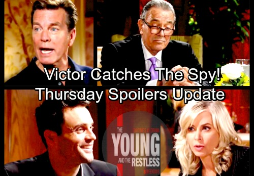The Young and the Restless Spoilers: Thursday, March 8 Update – Dina's Confused Terror – Victor Discovers The Spy
