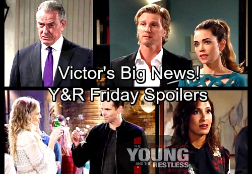 The Young and the Restless Spoilers: Friday, March 9 – Billy Fights to Prove Ashley's Innocence – Victor Shares Big News