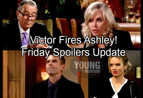 The Young and the Restless Spoilers: Friday, March 9 Update – Victor Fires Ashley – Abby Has Proof Victoria Guilty – Hilary's Shock