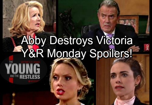 The Young and the Restless Spoilers: Monday, March 12 – Shocked Victor Takes Severe Action, Abby and Victoria Brawl